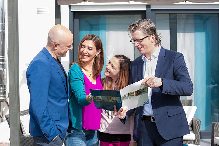 Mario Schlichting mit Familie
